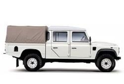 Land Rover Defender III 130 Double Cab High Capacity Pick Up 2.4 TD4 122KM 90kW 2007-2011
