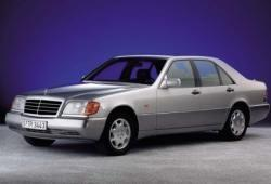 Mercedes Klasa S W140 Sedan 6.0 408KM 300kW 1992-1993