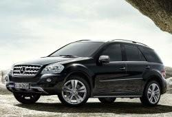 Mercedes Klasa M W164 Off-roader Facelifting