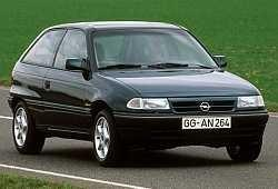 Opel Astra F Hatchback 1.6 Si 100KM 74kW 1992-1995