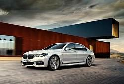 BMW Seria 7 G11 Sedan L 740e iPerformance 326KM 240kW od 2016