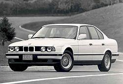 BMW Seria 5 E34 Sedan 540 i V8 286KM 210kW 1992-1995