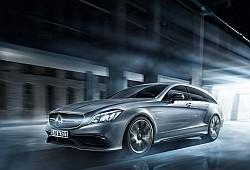 Mercedes CLS W218 Shooting Brake Facelifting