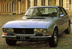 Peugeot 504 Coupe 2.0 106KM 78kW 1982-1984