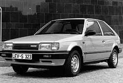 Mazda 323 III Hatchback 1.5 i Turbo 115KM 85kW 1985-1989