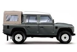 Land Rover Defender III 110 Double Cab Pick Up 2.2 135KM 99kW 2011