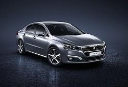 Peugeot 508 Sedan Facelifting -