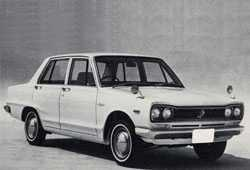 Nissan Skyline C10 Sedan 2.0 130KM 96kW 1968-1972