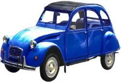 Citroen 2CV Sedan 0.4 16KM 12kW 1963-1970