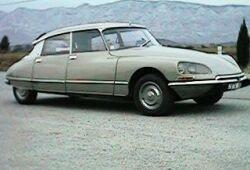Citroen DS Sedan 2.4 140KM 103kW 1970-1974
