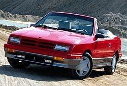 Dodge Shadow Cabrio 2.2 i Turbo 148KM 109kW 1987-1990
