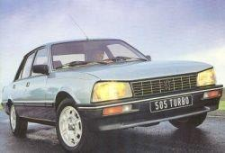 Peugeot 505 Sedan 2.2 Turbo Injection 155KM 114kW 1984-1988