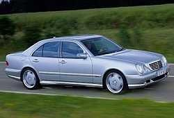 Mercedes Klasa E W210 Sedan 2.8 4-matic 204KM 150kW 1996-2002