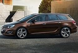Opel Astra J Sports Tourer Facelifting