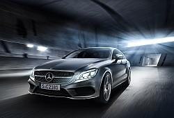 Mercedes CLS W218 Coupe Facelifting -