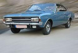 Opel Rekord C Coupe 2.2 95KM 70kW 1966-1972