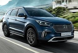 Hyundai Grand Santa Fe SUV Facelifting -