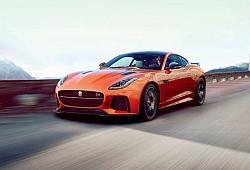 Jaguar F-Type Coupe SVR Facelifting -