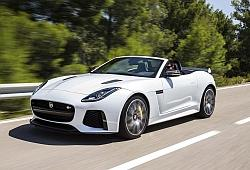 Jaguar F-Type Kabriolet SVR Facelifting -