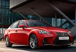 Lexus IS III Sedan Facelifting