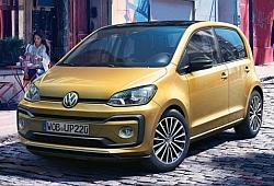 Volkswagen up! Hatchback 5d Facelifting 1.0 TSI 90KM 66kW od 2017