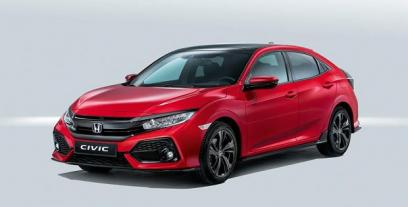 Honda Civic X Hatchback 5d 1.0 VTEC Turbo 129KM 95kW od 2017