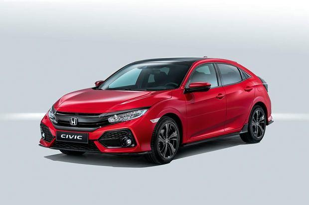 Honda Civic X Hatchback 5d 1.5 VTEC Turbo 182KM 134kW od 2017