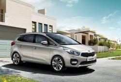 Kia Carens IV Minivan Facelifting