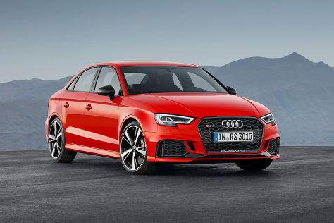 Audi A3 8V RS3 Limousine Facelifting -