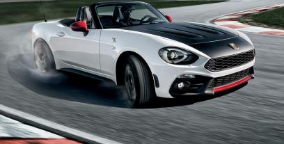 Abarth 124 Spider I Roadster 1.4 T-Jet 170 KM 125 kW