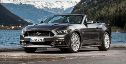 Ford Mustang VI Convertible 2.3 EcoBoost 317KM 233kW 2014-2017