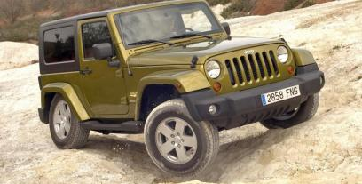 Jeep Wrangler III Unlimited Facelifting