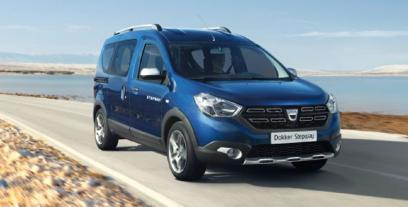 Dacia Dokker Mikrovan Facelifting 1.5 dCi 75KM 55kW 2017-2018