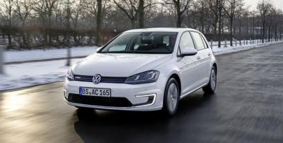 Volkswagen Golf VII e-Golf Facelifting Electro 136 KM 100 kW