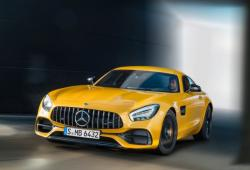 Mercedes AMG GT Coupe Facelifting -
