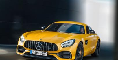 Mercedes AMG GT Coupe Facelifting