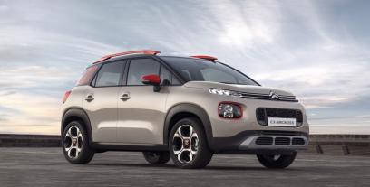 Citroen C3 Aircross  I Crossover 1.6 BlueHDI 120 KM 88 kW