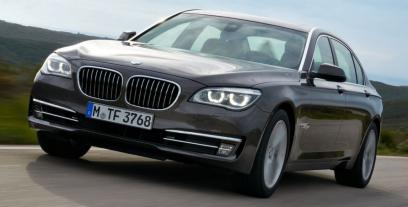 BMW Seria 7 F01 Sedan L Facelifting 760Li 544 KM 400 kW