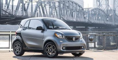 Smart Fortwo III Coupe 1.0 mhd 71KM 52kW od 2014