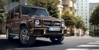 Mercedes Klasa G W463 Off-roader Facelifting 2015 G 350d 245KM 180kW 2015-2017