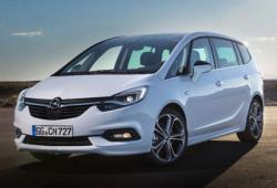 Opel Zafira C Tourer Facelifting