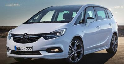 Opel Zafira C Tourer Facelifting 1.6 Turbo CNG 150 KM 110 kW