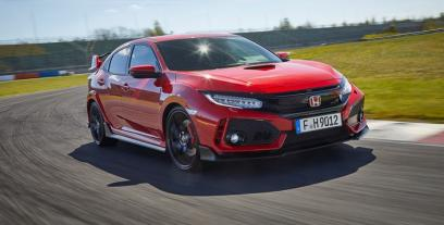 Honda Civic X Hatchback 5d Type R  2.0 i-VTEC Turbo 320KM 235kW od 2017