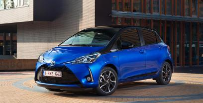 Toyota Yaris III Hatchback 5d Facelifting 2017 1.5 Dual VVT-iE 111KM 82kW 2017-2020