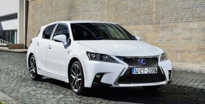 Lexus CT I Hatchback 5d Facelifting 2017 200h 136 KM 100 kW
