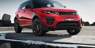 Land Rover Range Rover Evoque SUV Coupe Facelifting