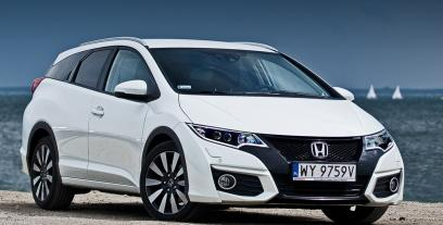 Honda Civic IX Tourer Facelifting 1.6 i-DTEC 120KM 88kW od 2015