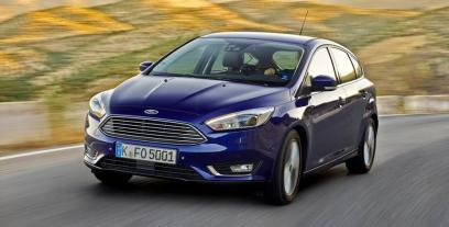 Ford Focus III Hatchback 5d facelifting 1.0 EcoBoost 125KM 92kW 2014-2018