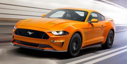 Ford Mustang VI Fastback Facelifting