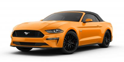 Ford Mustang VI Convertible Facelifting 2.3 EcoBoost 290 KM 213 kW